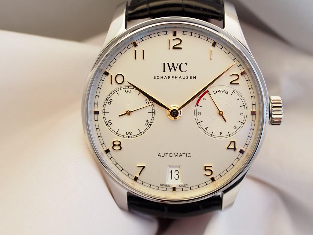 ポルトギーゼシリーズの中で最も成功を収めるモデルの一つ!IWC 「ポルトギーゼ・オートマチック」