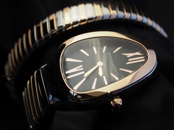 僕が彼女に着けていてほしい時計No.1のブルガリ「セルペンティ トゥボガス」