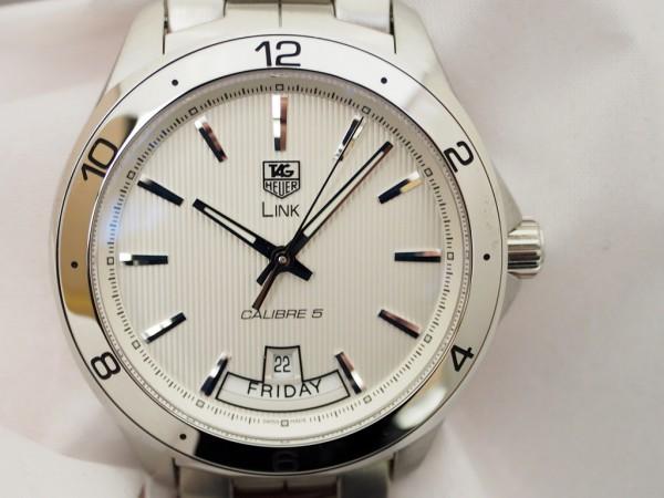 快適な装着感の時計をお探しなら タグ・ホイヤー「リンク デイ デイト」