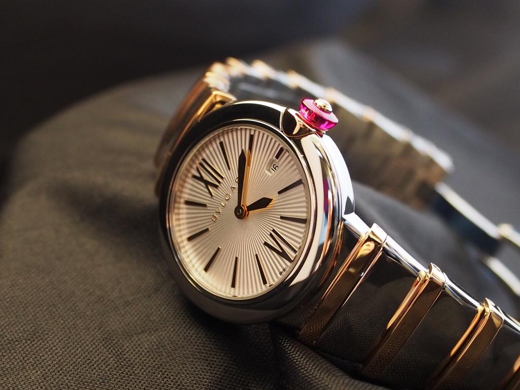 オトナ女子にはこの時計 「ブルガリ ルチェア LU28C6SSPGD」