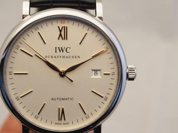 IWCの大人気モデル 「ポートフィノ・クロノグラフ (シルバー×金針)」入荷致しました