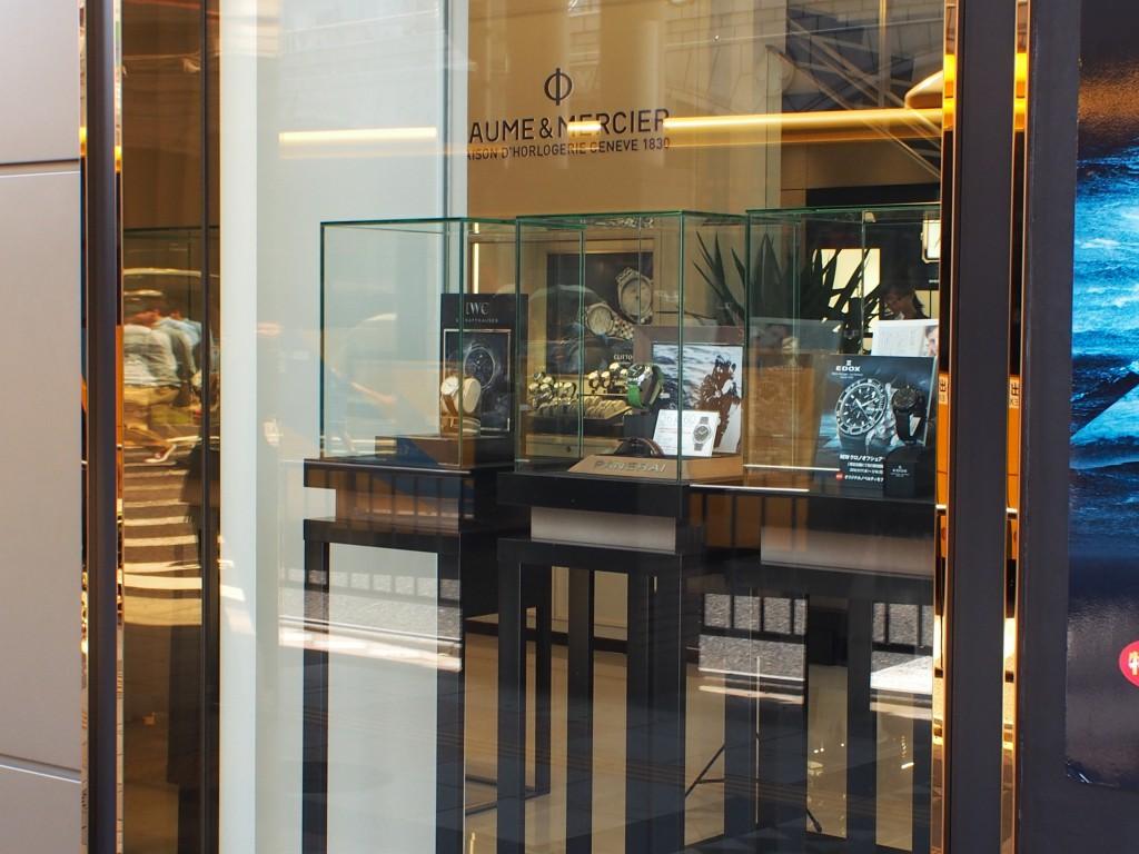 展示時計のご紹介 「IWC」 「PANERAI」 「EDOX」