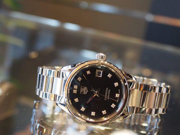 女性でも本格派機械式時計を着けたい!そんな方にオススメ!タグ・ホイヤー「カレラ レディ ダイヤモンド」