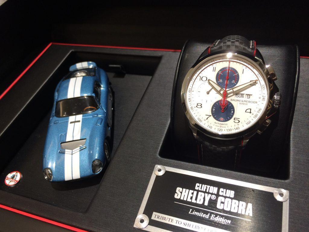 世界限定1964本モデル 入荷しております!ボーム&メルシエ「クリフトン クラブ シェルビー® コブラ 1964」