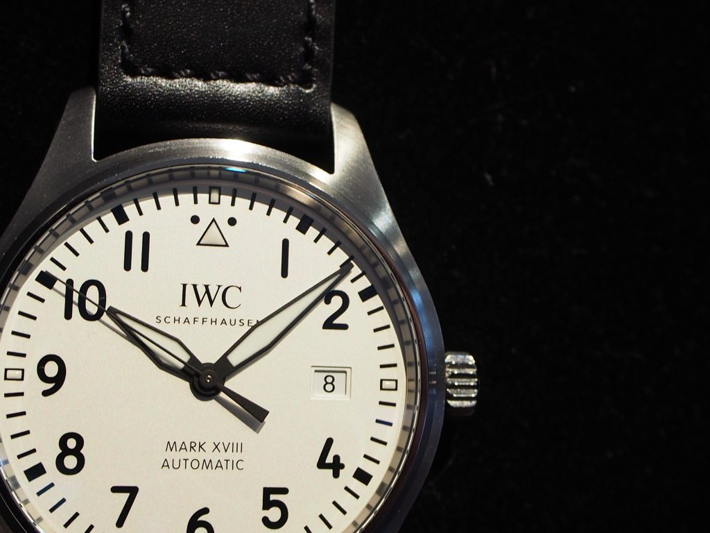 毎日着けるなら、パイロットシリーズがオススメです!IWC「パイロット・ウォッチ・マークⅩⅧ」