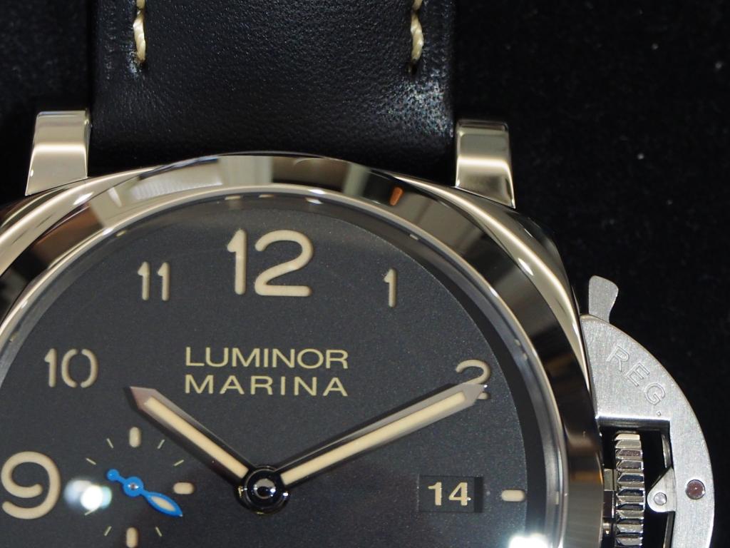 久しぶりの入荷です!パネライ「ルミノール 1950 3デイズ オートマティック アッチャイオ」PAM01359
