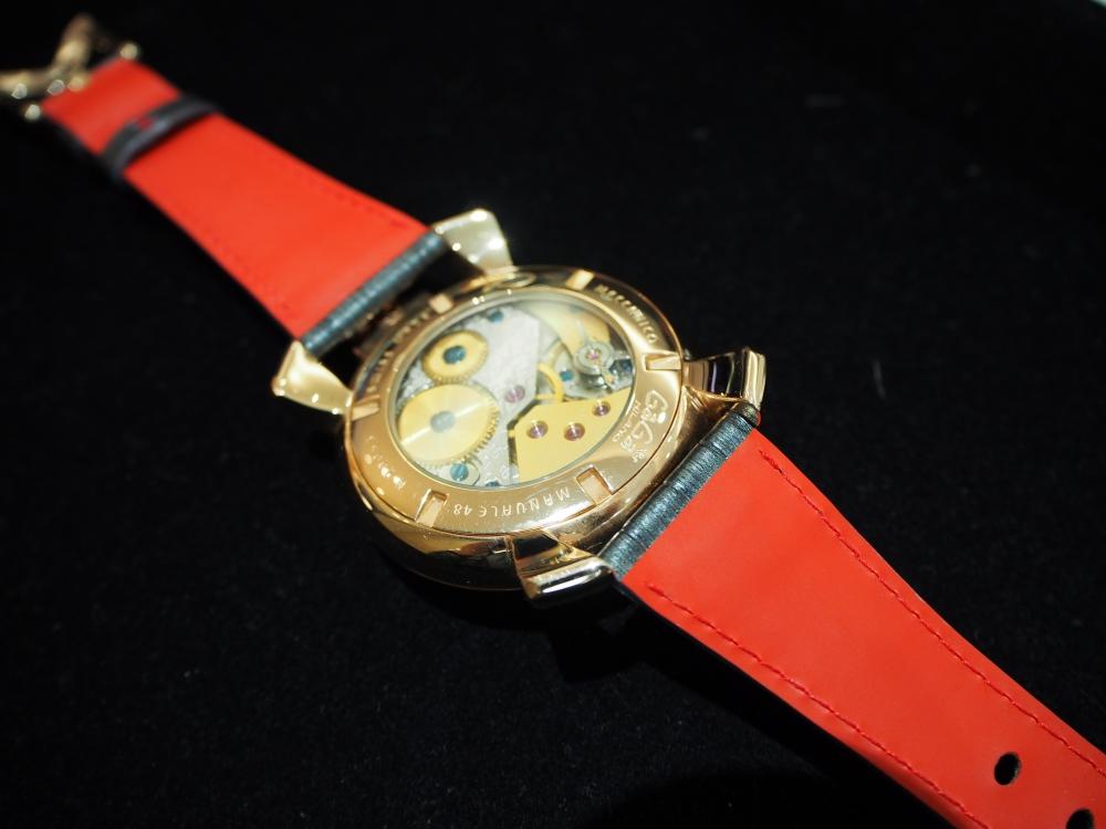 お持ちの時計でもベルトをお作り出来ます!! オーダーメイドストラップ、『ジャン・ルソー』