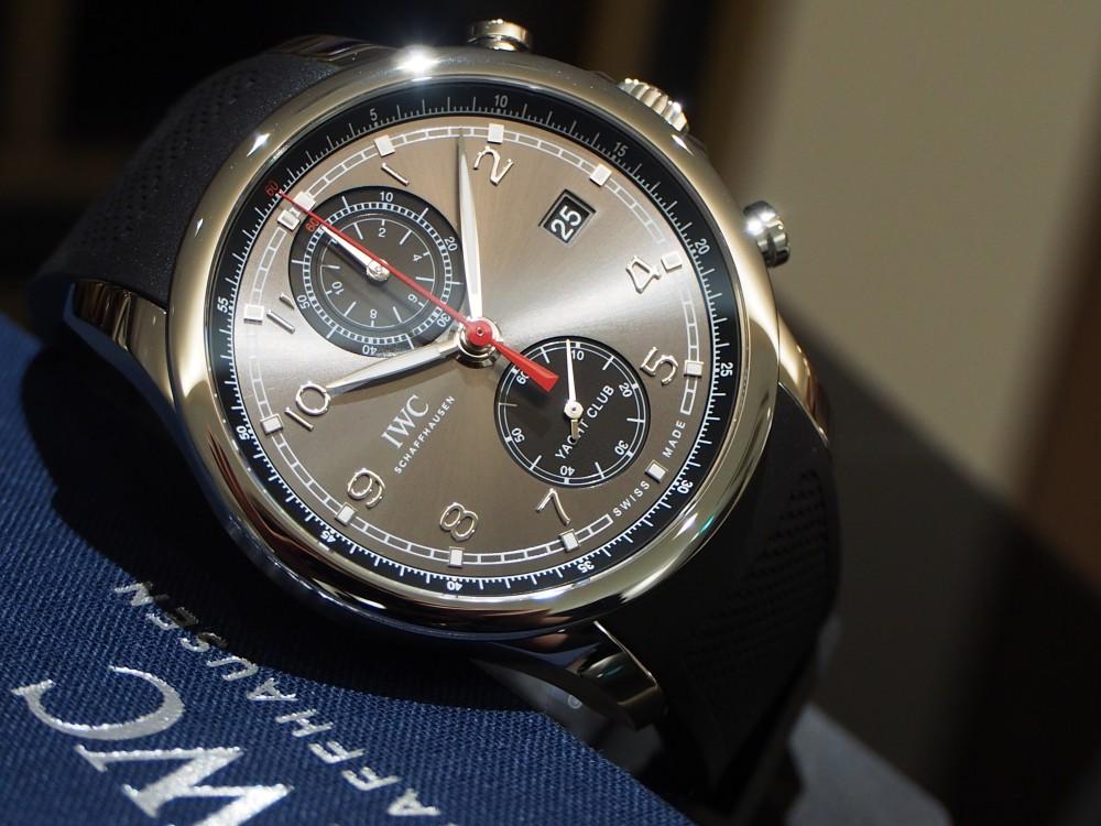 内田のイチオシ!!男性に着けてほしい時計NO.1はIWC「ポルトギーゼ・ヨットクラブ・クロノグラフ」IW390503