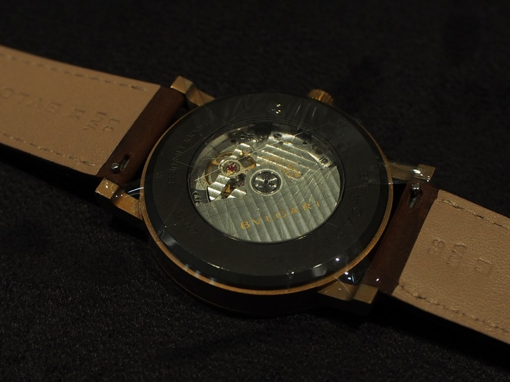 ブルガリのブロンズ時計 3種類揃ってます!「ブルガリ・ブルガリ」はブロンズ素材×自社ムーブメント!
