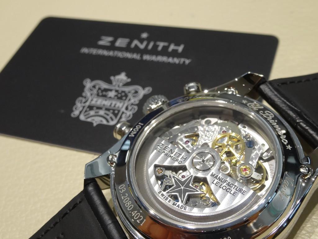 【ZENITH FAIR】ZENITH、お客様の世界にひとつだけのモデルのご紹介。