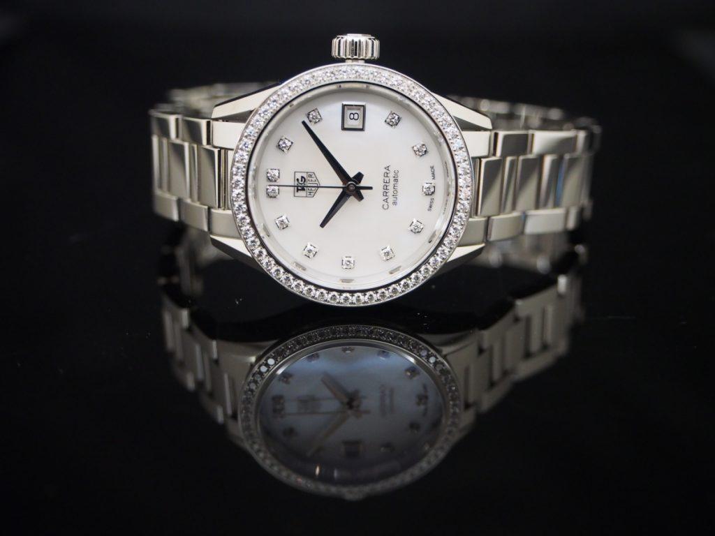 女性でも機械式時計!女性でもタグ・ホイヤー!!知らなかったカレラ レディ ダイヤモンドの魅力