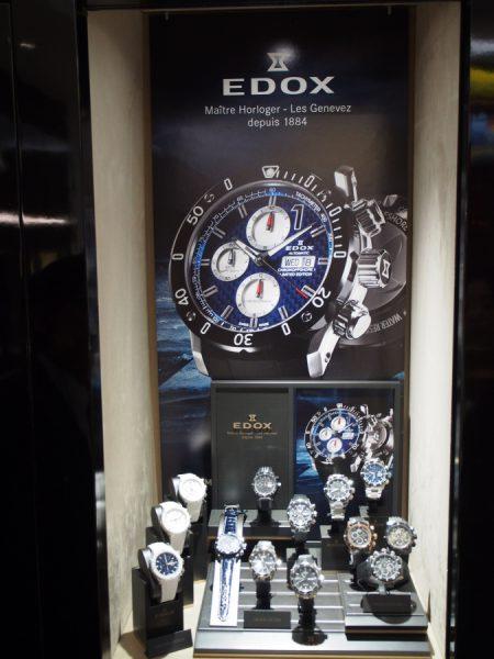 oomiya京都店:【EDOX (エドックス)】新規取り扱い開始。