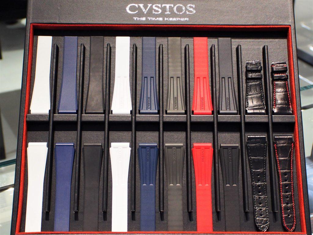 CVSTOS(クストス)純正ストラップも多数ご用意しております。
