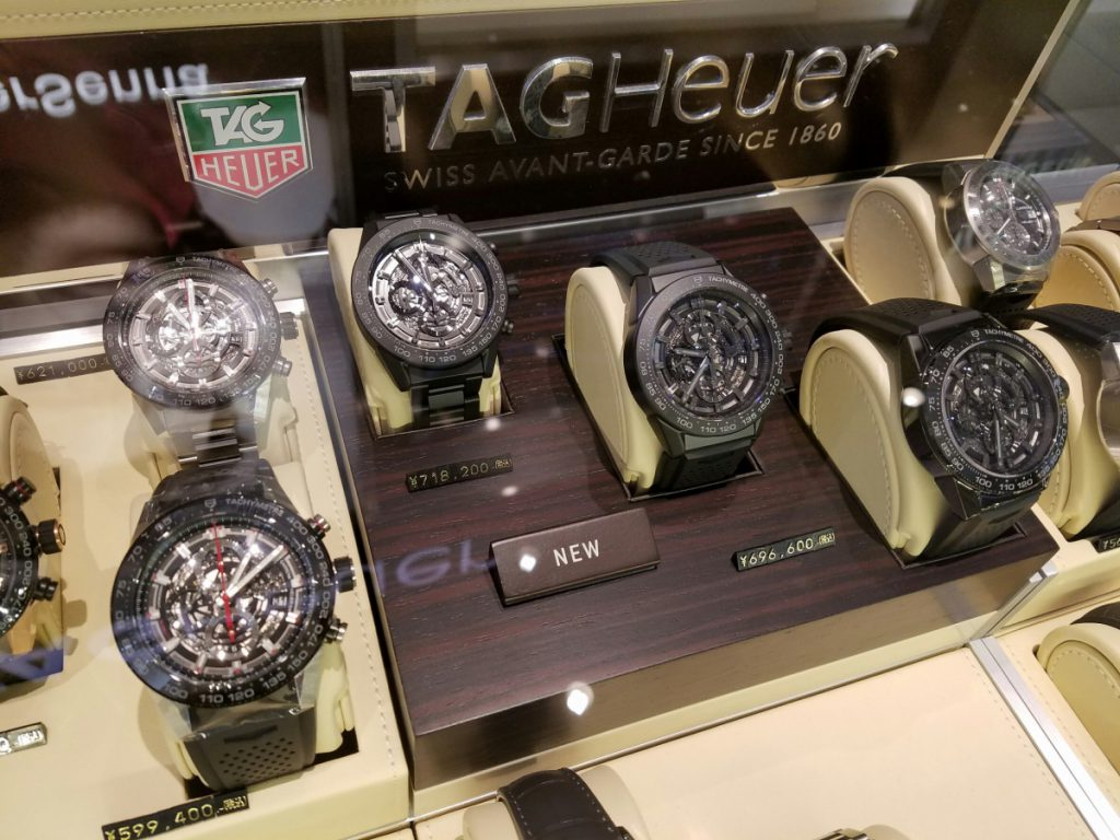 【TAG Heuer NEW COLLECTION】2017年新作モデル、京都でもご覧いただけます。