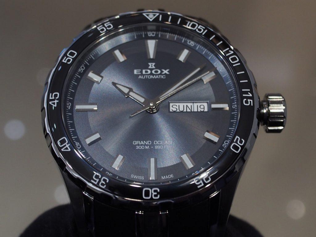 EDOX(エドックス)のグランドオーシャンシリーズからシンプルな自動巻きモデルをご紹介。