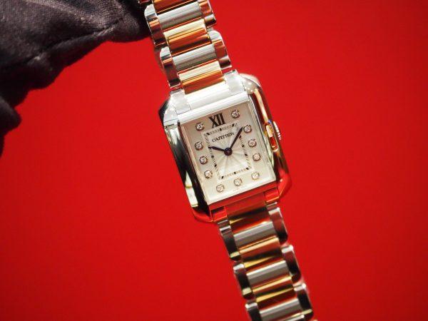 【Cartier(カルティエ)】力強い完璧なラインが美しい!/タンク アングレーズ