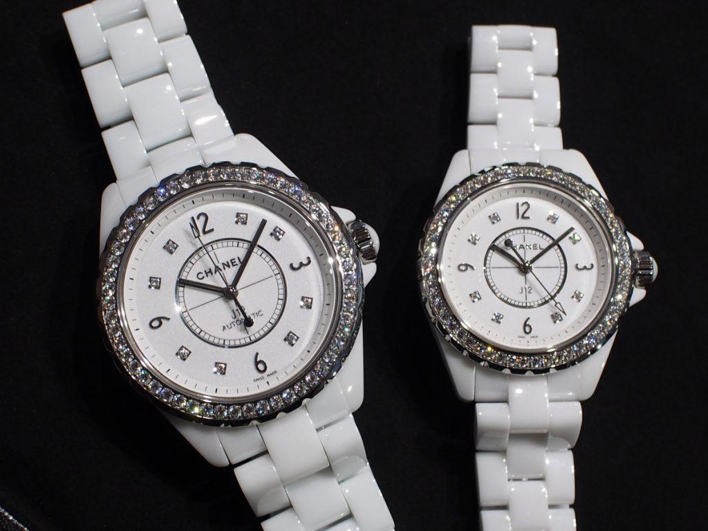 ワンランク上の時間を腕に~シャネル/J12ホワイトダイヤモデル