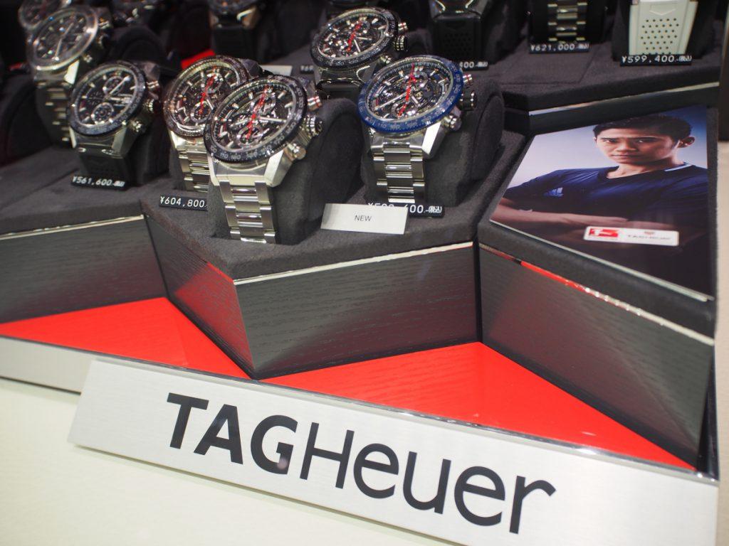 【TAG Heuer FAIR】開催中のoomiya京都店に、人気モデルが続々と再入荷しております!