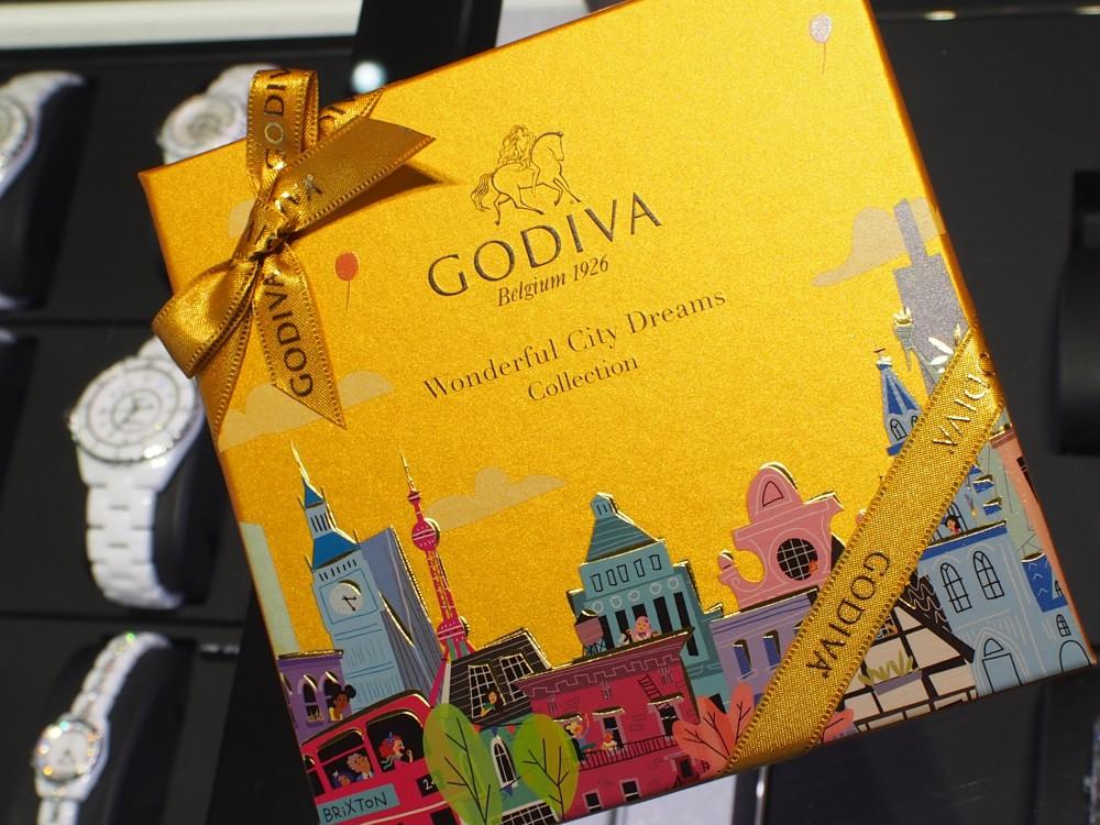 K様よりお礼のゴディバ☆チョコレート頂きました!