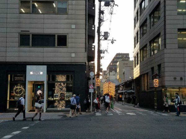 祇園祭後祭(あとまつり) 7月24日は山鉾巡行。oomiya京都店は通常営業しております。