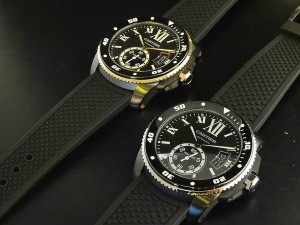 """【CARTIER WATCH COLLECTION】人気の""""カリブルダイバー""""も多数取り揃えております!"""