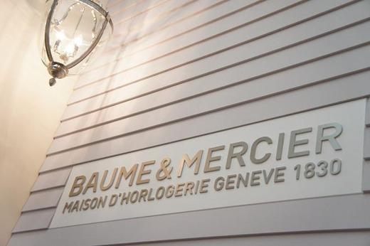 2012年SIHH BAUME&MERCIERブース