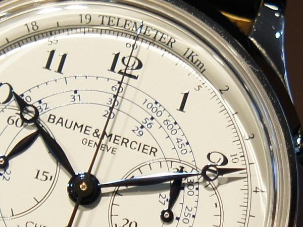 *BAUME & MERCIER >> ケープランド フライバック・クロノグラフ/ MOA10006