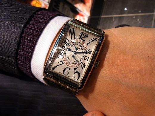 和歌山本店出水店長の私物時計。