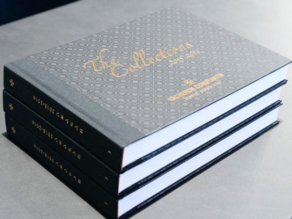今日のヴァシュロンコンスタンタンは、新カタログが届いております♪
