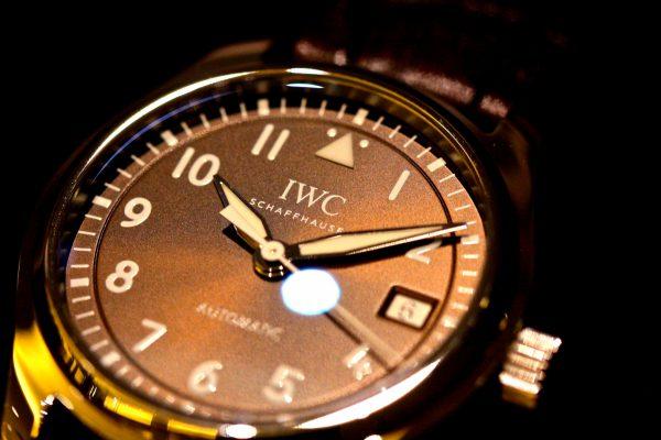 IWCニューモデル入荷しました!新しいタバコブラウンカラーが美しい  パイロット・ウォッチ・オートマチック36の新色文字盤。