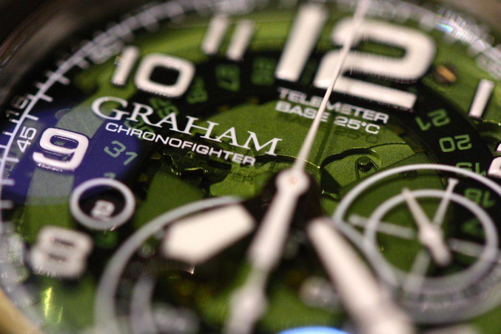 GRAHAM (グラハム ニューコレクション2017)開催中!今日のオススメはクロノファイター ターゲット。