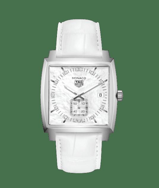 TAG Heuerより新作「モナコ レディ ダイヤモンド」が皆様のご来店をお待ちしております。