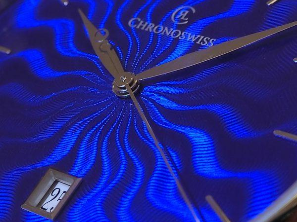 フラメギョーシェが非常に魅力的な「シリウス アーティスト」~CHRONOSWISS~