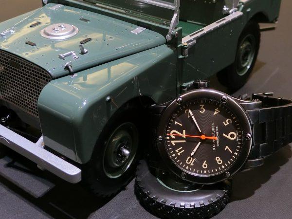 """使い込むほどに味が出てくる武骨な時計、""""サファリRL67クロノメーター39mm~RALPH LAUREN~"""