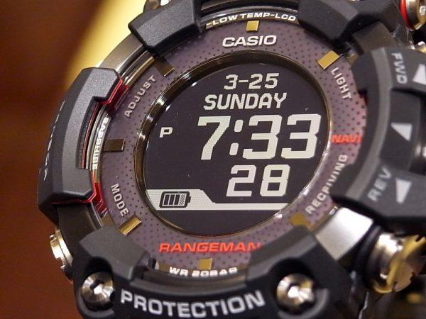 G-SHOCK 「MASTER OF G マスターオブG」から、新 ワイヤレス充電を採用した「RANGEMAN レンジマン」GPR-B1000-1JR が入荷!