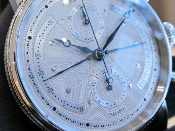 """見ていて楽しい""""動きのある""""時計、シリウス レトログラード クロノグラフ~CHRONOSWISS~"""