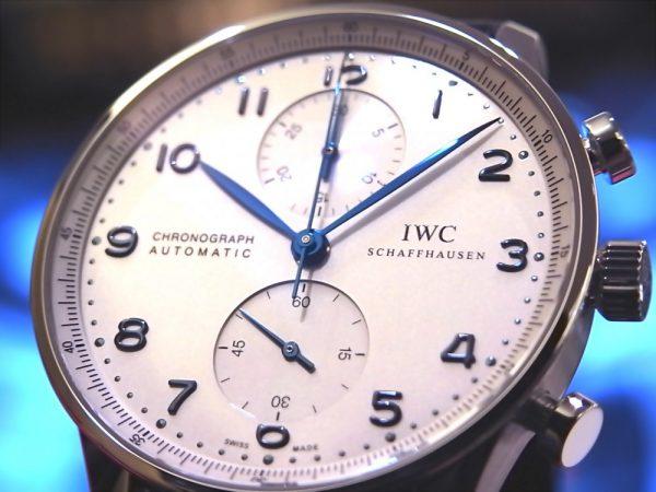 IWCの名作モデル「ポルトギーゼクロノグラフ」がoomiya大阪心斎橋店に再入荷しました。