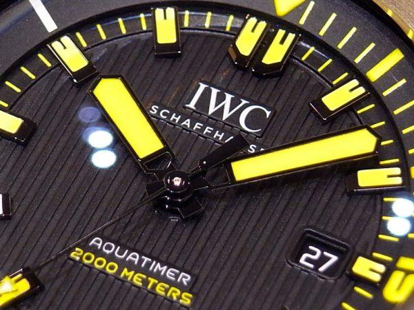 IWCのダイバーズウォッチ!!  「アクアタイマー・オートマティック 2000」。
