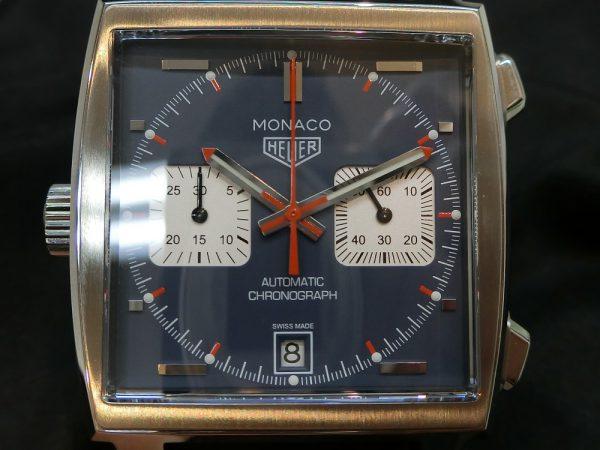 タグホイヤーより角型時計「モナコ キャリバー11 クロノグラフ」をご紹介!CAW211P.FC6356