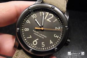 ラルフ ローレン 2013年新作 スポーティング コレクション サファリ RL67 オートマティック モデル (RLR0220900)