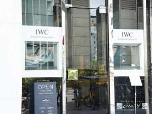 本日IWCフェア最終日です。