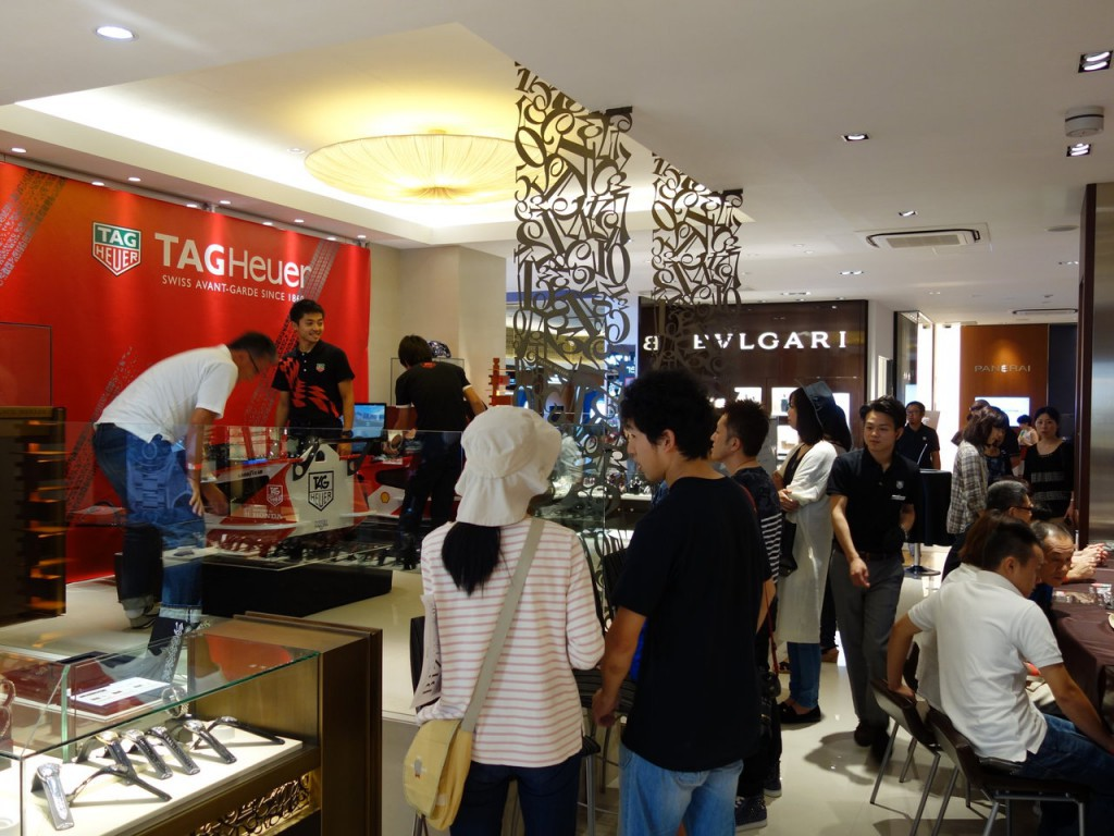 TAG HEUER DAY 2015 – 2日目②