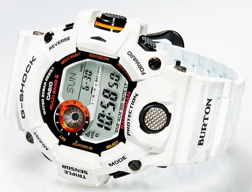 G-SHOCK×BURTONのコラボレーションモデル「GW-9400BTJ-8JR」発表!