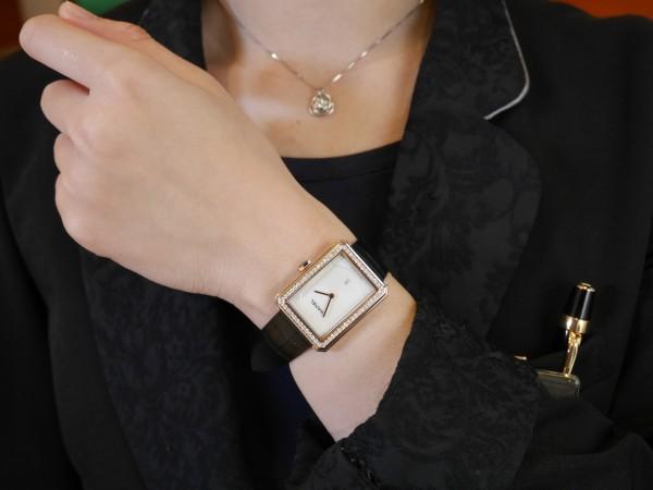 シャネル 新たな時計コレクション本質に向き合う存在感の証「ボーイフレンド」。
