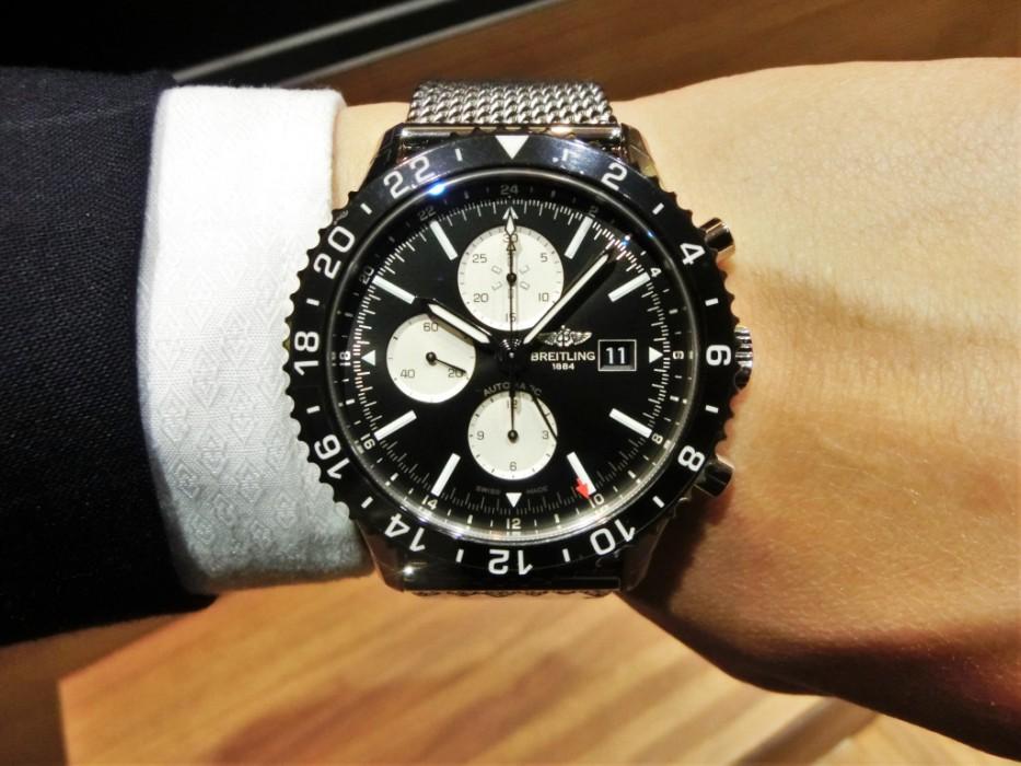 スーツに良く合うクラシック時計、ブライトリング「クロノライナー Y241B100CA」