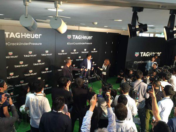 海外で活躍するサッカー選手 香川真司選手がタグ・ホイヤー新アンバサダーに就任しました!!