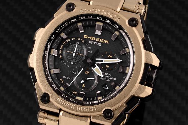 G-SHOCK 世界限定700本 ゴールド(パラサイト)カラーのMTG-G1000RG-1AJR