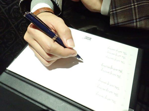 プレゼントにモンブランのペンはいかがですか?