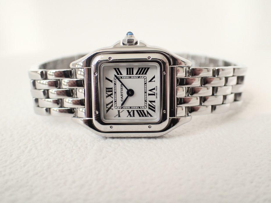 まるでジュエリーの様な時計「カルティエ パンテール ドゥ カルティエ ウォッチ」