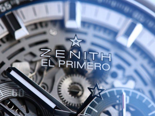 ゼニス 2017年新作モデル エル・プリメロ フルオープン 03.2081.400/78.M2040